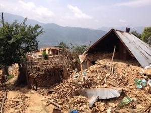 Nepal Earthquake: Homes Destroyed